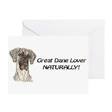 NBrdlDots GDL Naturally Greeting Card
