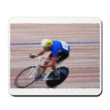 BIKE RACER PAINTING Mousepad