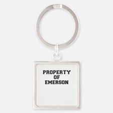 Property of EMERSON Keychains