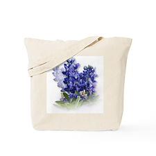 Bluebonnet Spray Tote Bag
