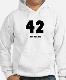 42 the answer to the question Hoodie