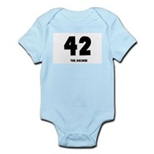 42 the answer to the question Infant Creeper