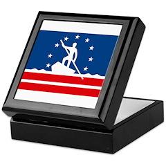 Richmond Flag Keepsake Box