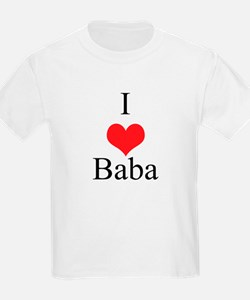 I Love (Heart) Baba T-Shirt