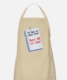 No Rules at Baba's House! BBQ Apron
