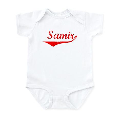 Samir Vintage (Red) Infant Bodysuit