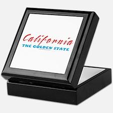 California - Golden State Keepsake Box