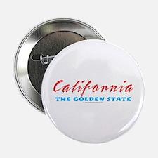 California - Golden State Button