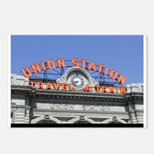 Union Station Train Postcards (Package of 8)