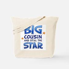 Big Cousin - Star (Blue) Tote Bag