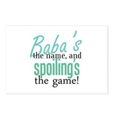 Baba's the Name, and Spoiling's the Game! Postcard