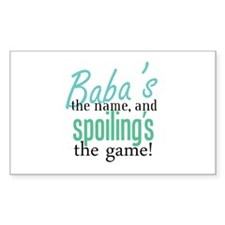 Baba's the Name, and Spoiling's the Game! Decal