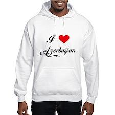 I Love Azerbaijan Hoodie