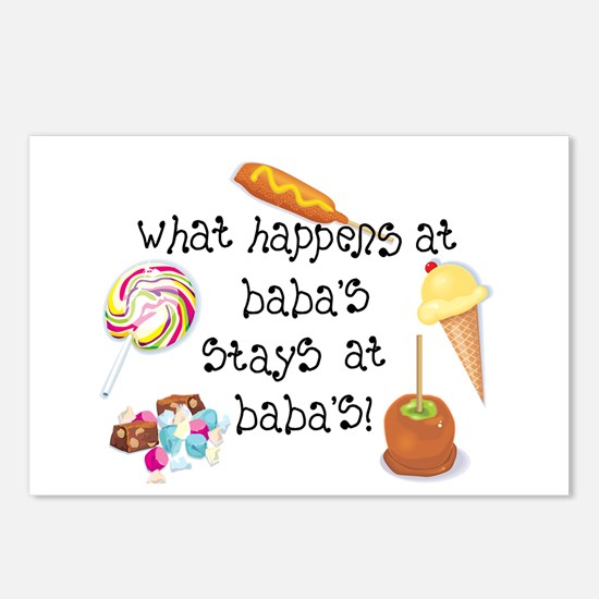 What Happens at Baba's... Postcards (Package of 8)