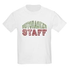 Nutcracker Staff Christmas Ballet T-Shirt