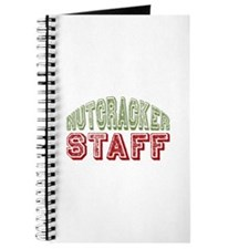 Nutcracker Staff Christmas Ballet Journal