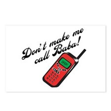 Don't Make Me Call Baba! Postcards (Package of 8)