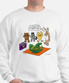 """""""Tortoise and the Hare Revisited"""" Sweatshirt"""