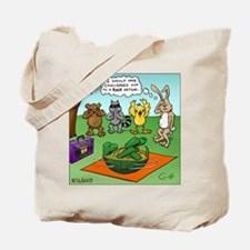 """Tortoise and the Hare Revisited"" Tote Bag"