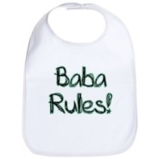 Baba Rules! Baby Bib