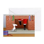 Nothin' Butt A Bull Terrier Greeting Cards (Pk of