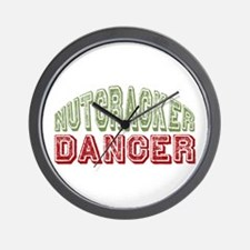 Nutcracker Dancer Christmas Ballet Wall Clock