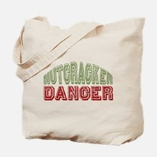 Nutcracker Dancer Christmas Ballet Tote Bag