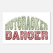 Nutcracker Dancer Christmas Ballet Postcards (Pack