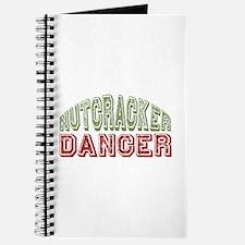 Nutcracker Dancer Christmas Ballet Journal