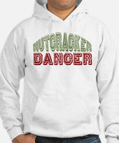 Nutcracker Dancer Christmas Ballet Hoodie
