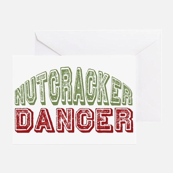 Nutcracker Dancer Christmas Ballet Greeting Card
