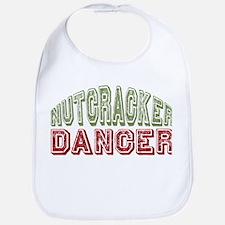 Nutcracker Dancer Christmas Ballet Bib