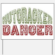 Nutcracker Dancer Christmas Ballet Yard Sign