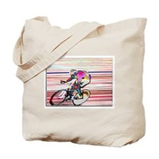 BIKE RACER WAX Tote Bag