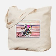 BIKE RACER WAX Tote Bag