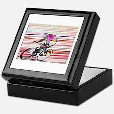 BIKE RACER WAX Keepsake Box