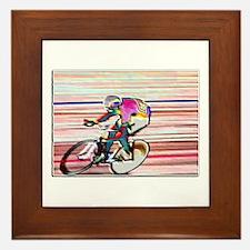BIKE RACER WAX Framed Tile