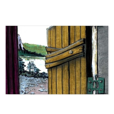 Out the Door - Postcards (Package of 8)