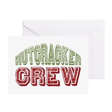 Nutcracker Crew Christmas Ballet Greeting Cards (P