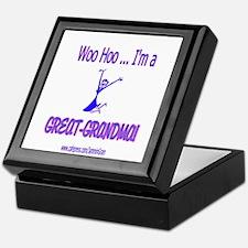 WOO HOO GREAT-GRANDMA Keepsake Box