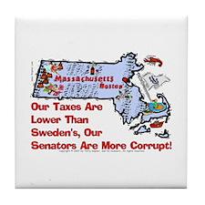 MA-Corrupt! Tile Coaster