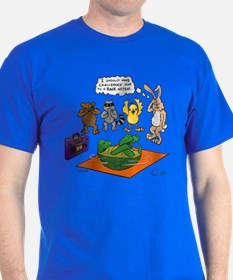"""Tortoise and the Hare Revisited"" T-Shirt"