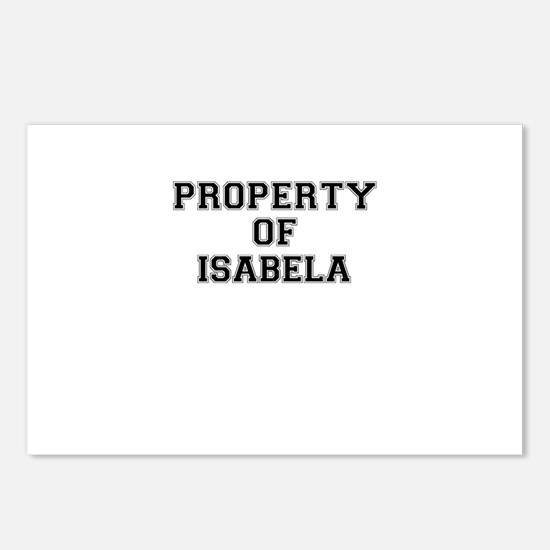 Property of ISABELA Postcards (Package of 8)