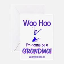 WOO HOO GRANDMA 2B Greeting Card