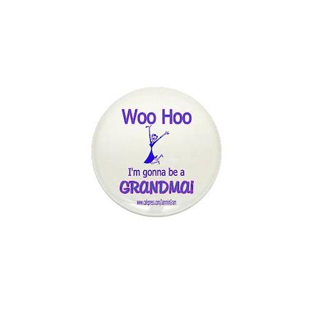 WOO HOO GRANDMA 2B Mini Button