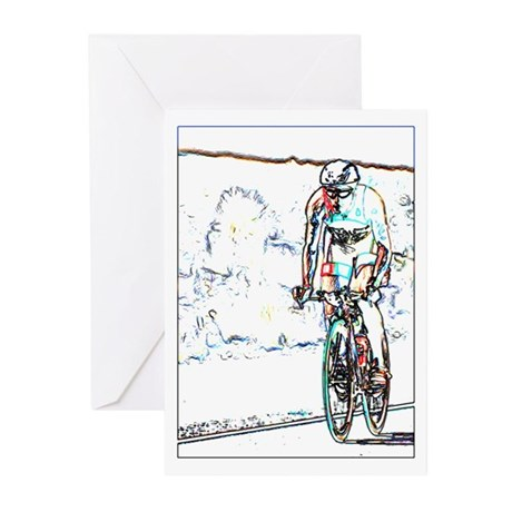 112 MILES LINE Greeting Cards (Pk of 20)