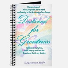"""Destined for Greatness"" Journal"