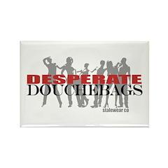 Desperate Douchebags Logo Rectangle Magnet (10 pac