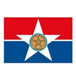 Dallas Flag Postcards (Package of 8)