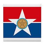 Dallas Flag Tile Coaster